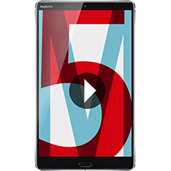 "Huawei MediaPad M5 - Tablet 8.4"" 2K IPS (WiFi, Procesador Octa-Core Kirin 960, 4GB de RAM, 32GB de Memoria Interna, Android 8.0); Gris"