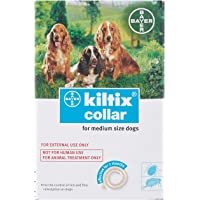 Trumppetz Bayer Kiltix Dog Collar Tick Flea Control Infestation (Medium)