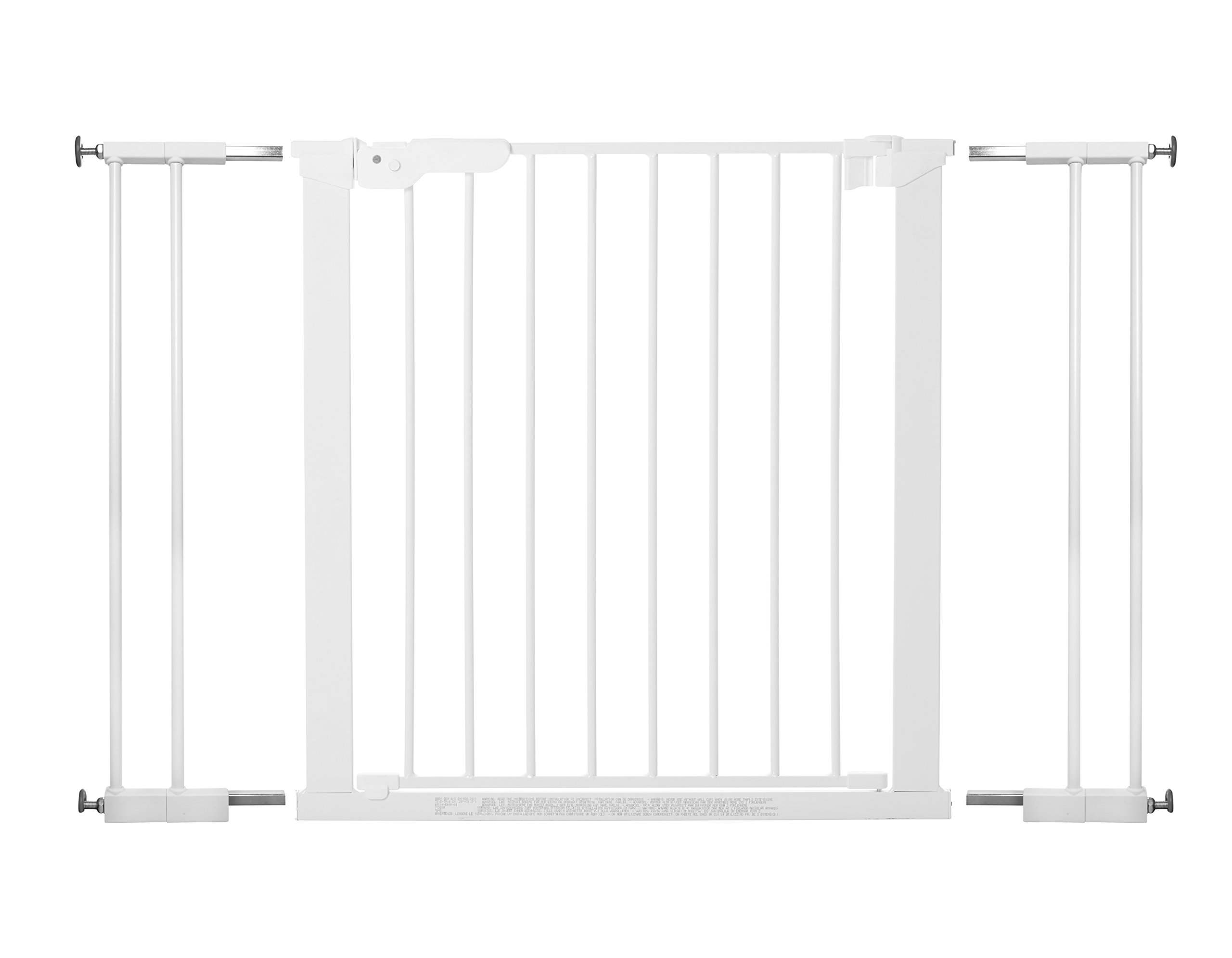 BabyDan Extra Wide Pressure Gate (99-106.3 cm)  Extra Wide Pressure Fit Safety Gate ideal for wider openings 99-106.3cm Fits straight from the box No Drilling or screwing required Pressure indicator shows when gate is correctly fitted 1