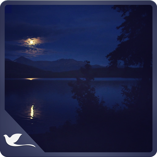 Romantic Night at Lake - Beautiful Blue Lake view Kindle Fire Fällen Musik