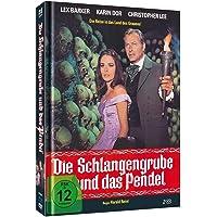 Die Schlangengrube und das Pendel - Limited Mediabook-Edition (Blu-ray+DVD/36-seitiges Booklet/in HD neu abgetastet)