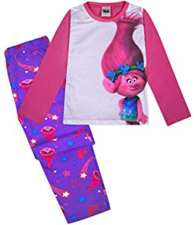 TDp Textiles Trolls Sparkle Girls Shortie Pajamas 7-8 Years