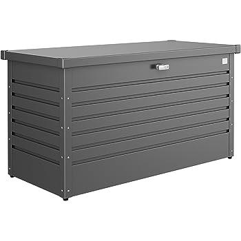 Biohort Freizeitbox Metallbox dunkelgrau-metallic 134 x 62 x 71 cm (Gr. 130)