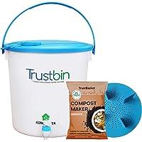 Trust Basket TrustBin Indoor composter Trial/Starter kit 14Ltrs (Set of 1)