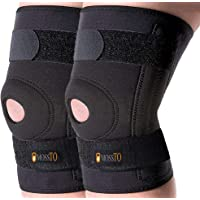 Mossto Adjustable Knee Cap Support Brace for Sports, Gym, Running, Arthritis, Joint Pain Relief, and Protection for Men…