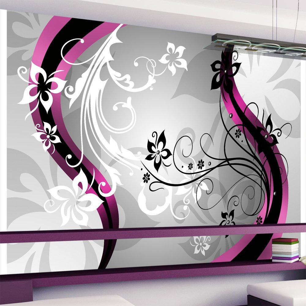Fototapete wohnzimmer lila  Vlies Fototapete 350x245 cm ! Top ! Tapete ! Wandbilder XXL ...