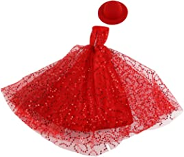 Pixnor Barbie Doll Dresses Amazing Fairy Tale Party Ball Barbie Gown