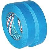 3M Scotch AutoBright blauwe band waterdicht, Automotive tape 3434 110°C 50m x 2 25mm