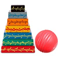 Simple Days Lagori Pitthu Handmade Wooden Traditional Indian Seven Stone Outdoor Game