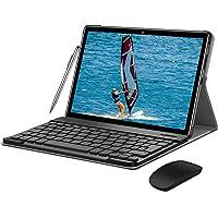 4G Tablet 10 Zoll - Android 9.0 Zertifiziert von Google GMS, 2 in1 Tablet mit Tastatur 4 GB RAM und 64 GB ROM, 8000 mAh…