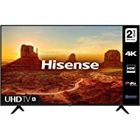 HISENSE 50A7100FTUK 50-inch 4K UHD HDR Smart TV with Freeview play, and Alexa Built-in…