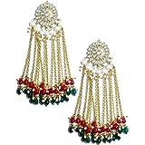 Karatcart Metal Kundan Stones Earrings For Women