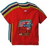 KGB Boys' T-Shirt (Pack of 5)