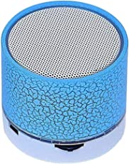 Rextan S10 Mini Bluetooth Speaker Outdoor Speakers Handfree Mic Stereo TF Card & Built-in for Calling Function Suitable for iOS & Android Devices