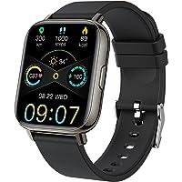 Smartwatch, Fitness Tracker 1,69 Zoll TFT-Display Fitness Armbanduhr mit Pulsuhr Schlafmonitor, Sportuhr Schrittzähler…