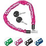 Fahrradschloss »Guardian« Sicherheitsschloss / Radschloss / Stahlgliederketten mit Schlüsseln zur Basisabsicherung…