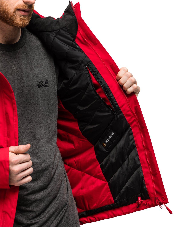 71kAO 919RL - Jack Wolfskin Northern Edge Men Winter Jacket Waterproof Windproof Breathable Weatherproof Jacket, Men
