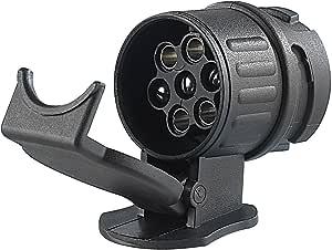 Adapter Für Pkw Und Anhänger 13 Polig Auf 7 Polig Adapter Anhängerkupplung Von 13 Pin Auto Auf 7 Pin Anhänger Iapyx Auto