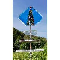 Acchiappasole esclusiva Sun catcher Giardino decorazione Giardino Fiore vetro confondendo