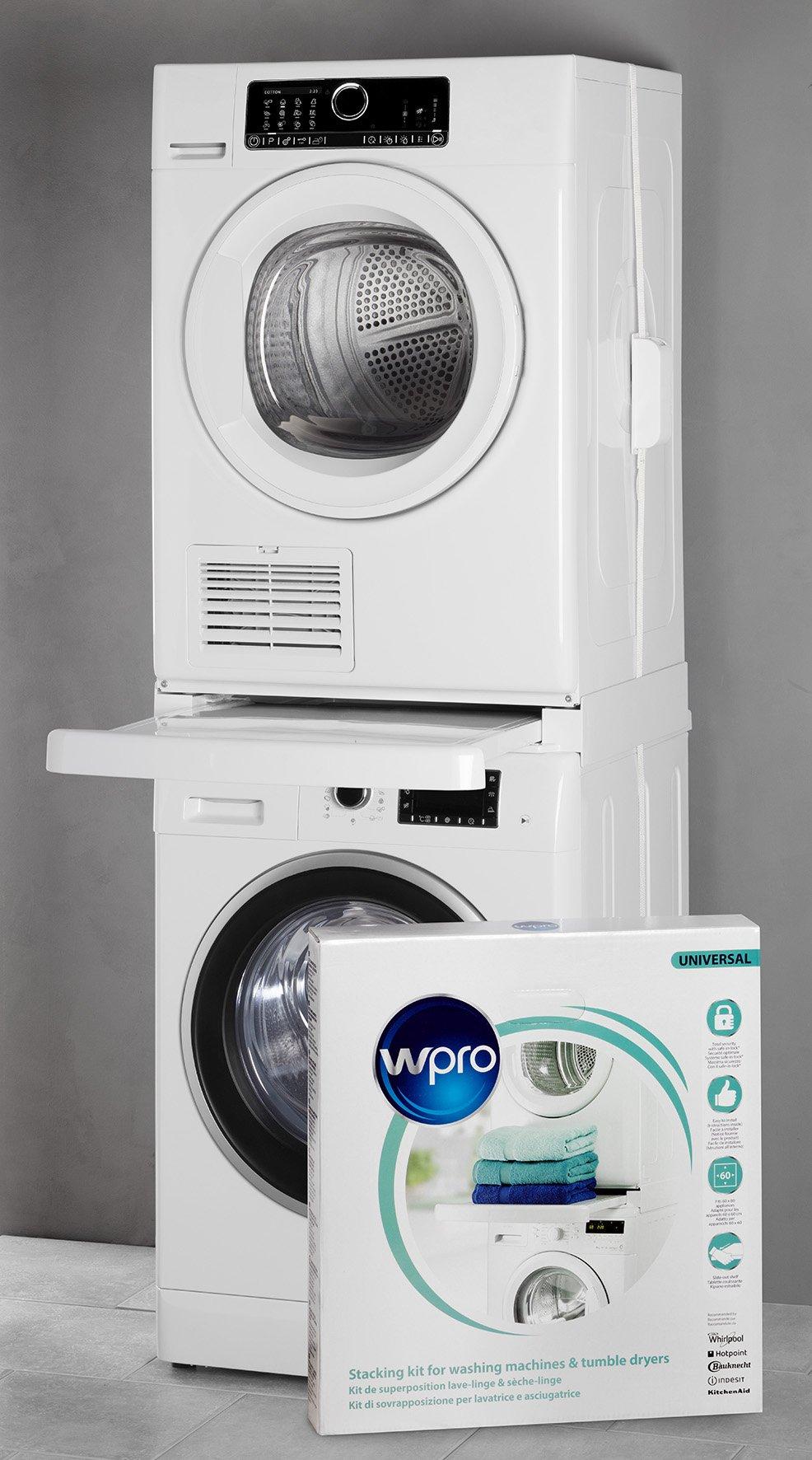 Wpro SKS101 Kit Colonna bucato Universale – Shop24Ore