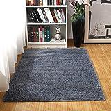 LIFANG Alfombra de área Peluda Suave Alfombras mullidas de Interior Modernas, cómodas alfombras de Sala de Estar, Alfombra de