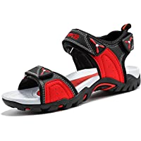 Elaphurus Boys Sandals Open Toe Beach Shoes for Girls Children Athletic Trekking Sandal