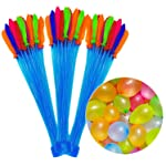 333pcs Water Balloons for Kids, JEMACHE Party Games Quick Fill Water Balloon Set for Swimming Pool Beach Yard Outdoor...