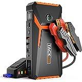 TACKLIFE T8 Booster Batterie-18000mAh/800A Booster Batterie Voiture Moto (Jusqu'à 7.0L Essence 5.5L Gazole), avec écran…