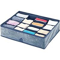 mDesign Boite de Rangement – Rangement tiroir avec 16 Compartiments pour Une Organisation minutieuse – Rangement…