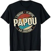 Homme Cadeau Papou l'Homme le Mythe la Légende T-Shirt