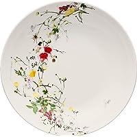 Rosenthal Brillance Fleurs Sauvages Assiette Creuse en Porcelaine, Multicolore, 21 cm