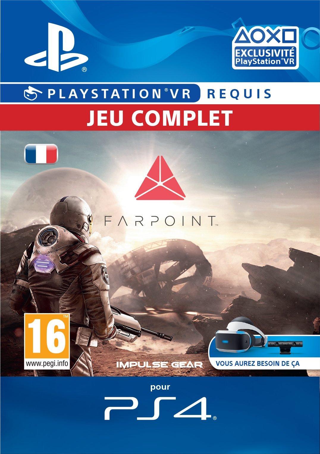 Farpoint Standard Edition [Code Jeu PSVR – Compte français]