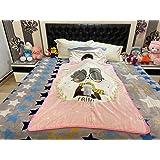 Insta buyz Microfiber Soft Baby Blanket Multipurpose (Pink, Standard)