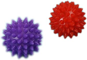 Cure18 Energy Ball SHARP Pointed for Hand/Foot Acupressure Massager Set of 2 Pcs