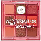 Nicka K Pop Neon Nine Color Palette - Watermelon Splash, Watermelon Splash, 8 g