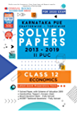 Oswaal Karnataka PUE Solved Papers II PUC Economics Chapterwise & Topicwise (For March 2020 Exam) Old Book