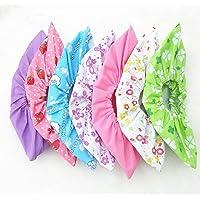 6 paires de tissu non tissé Envers antidérapant Couvre-chaussures Floral Couleur Candy Couleur lavable réutilisable…