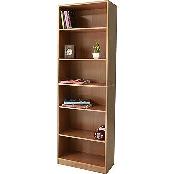 grand meuble bibliothque en bois personnaliser avec tagres rglables et empiles htre