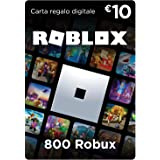 Carta Regalo Roblox - 800 Robux