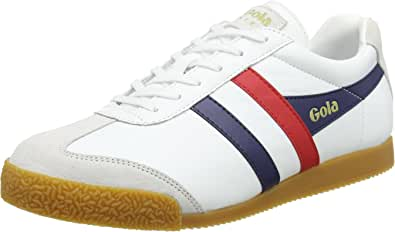 Gola Harrier Leather, Sneaker Uomo