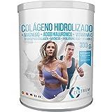 Collagene idrolizzato in polvere con magnesio, acido ialuronico e vitamina C - Salute per le ossa e le articolazioni - 300 gr