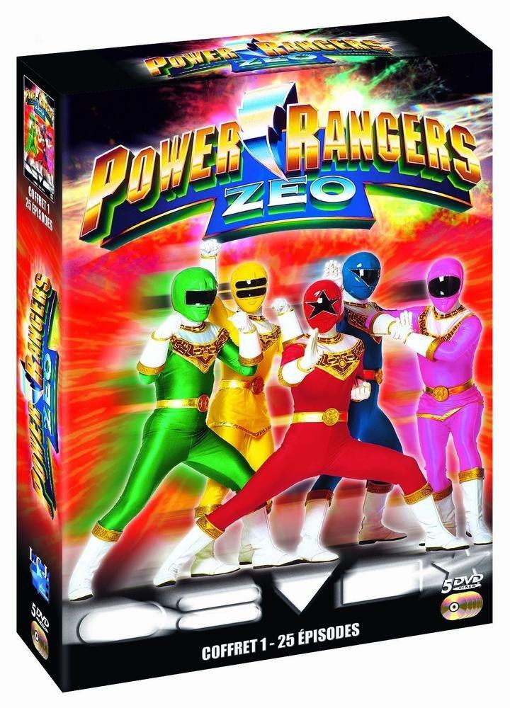 Power Rangers Zeo Coffret 1 [Edizione: Francia]