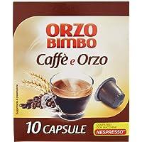 OrzoBimbo Capsule mix Orzo e Caffé - Compatibili con macchine Nespresso ® - Con il 50% di orzo - confezione da 10…