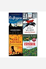 Katherine rundell 4 books collection set (rooftoppers,wolf wilder,girl savage,explorer) Paperback