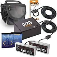 Orzly® Kit di Accessori per Il Nintendo NES Classic (NES Mini) – Bundle Pack contenente 2 Telecomandi, 2 Prolunghe per i…