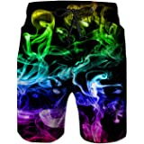 Rave on Friday Mens Swim Shorts 3D Print Swimming Trunks Summer Beach Shorts Hawaii Boardshorts