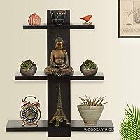 Woodkartindia Wooden Floating Wall Shelf/Wall Rack/Book Shelf/Home Decoration Shelves/Wall Display Rack for Living Room…