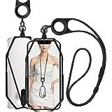"""takyu Handykette universal, Multifunktion Handyschnur Handyband, Flexibel Halsband zum Umhängen für 4.7-7.1"""" Handy (Schwarz)"""