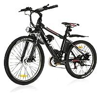 "VIVI 26""Elektro-Mountainbike 350W Elektrofahrrad 36V 8Ah Abnehmbare Batterie E-Bike 32KM/H 21 Gangschaltung Erwachsene E…"