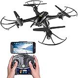 Holy Stone HS200 FPV RC Drohne mit HD Kamera Live Übertragung,RC Quadrocopter ferngesteuert mit APP steuern,live Video, One Key Start,automatische Höhenhaltung,Headless-Modus für Kinder und Anfänger